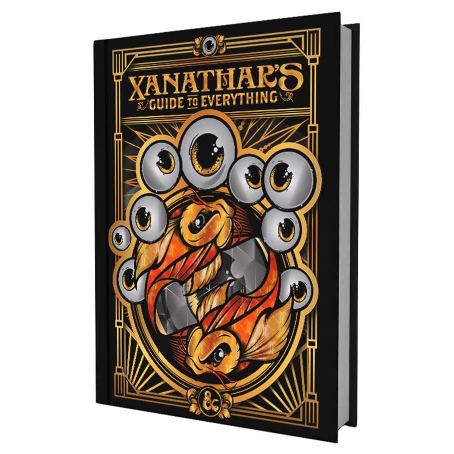 Apartment Guide Books: Xanathar's Guide To Everything Pre-order