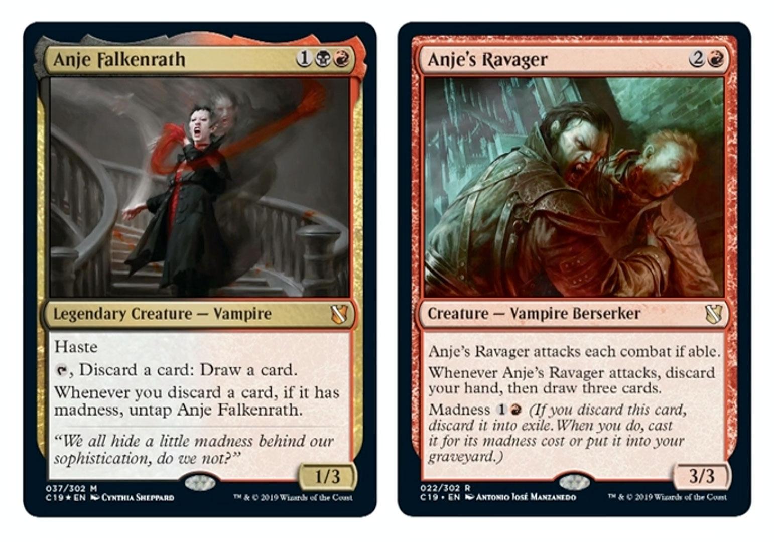 Magic madness deck list